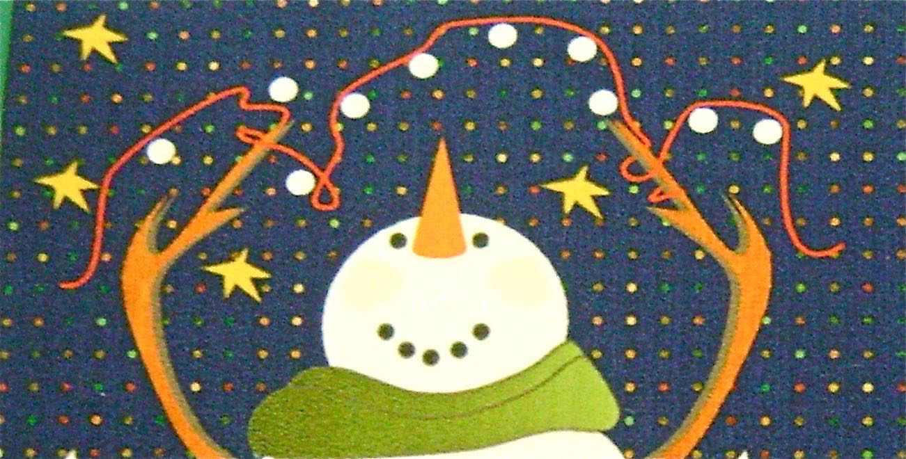 "step 7 - Use a 1/8"" or larger drill bit to drill holes into the 10 white dots above the snowman on all four panels."