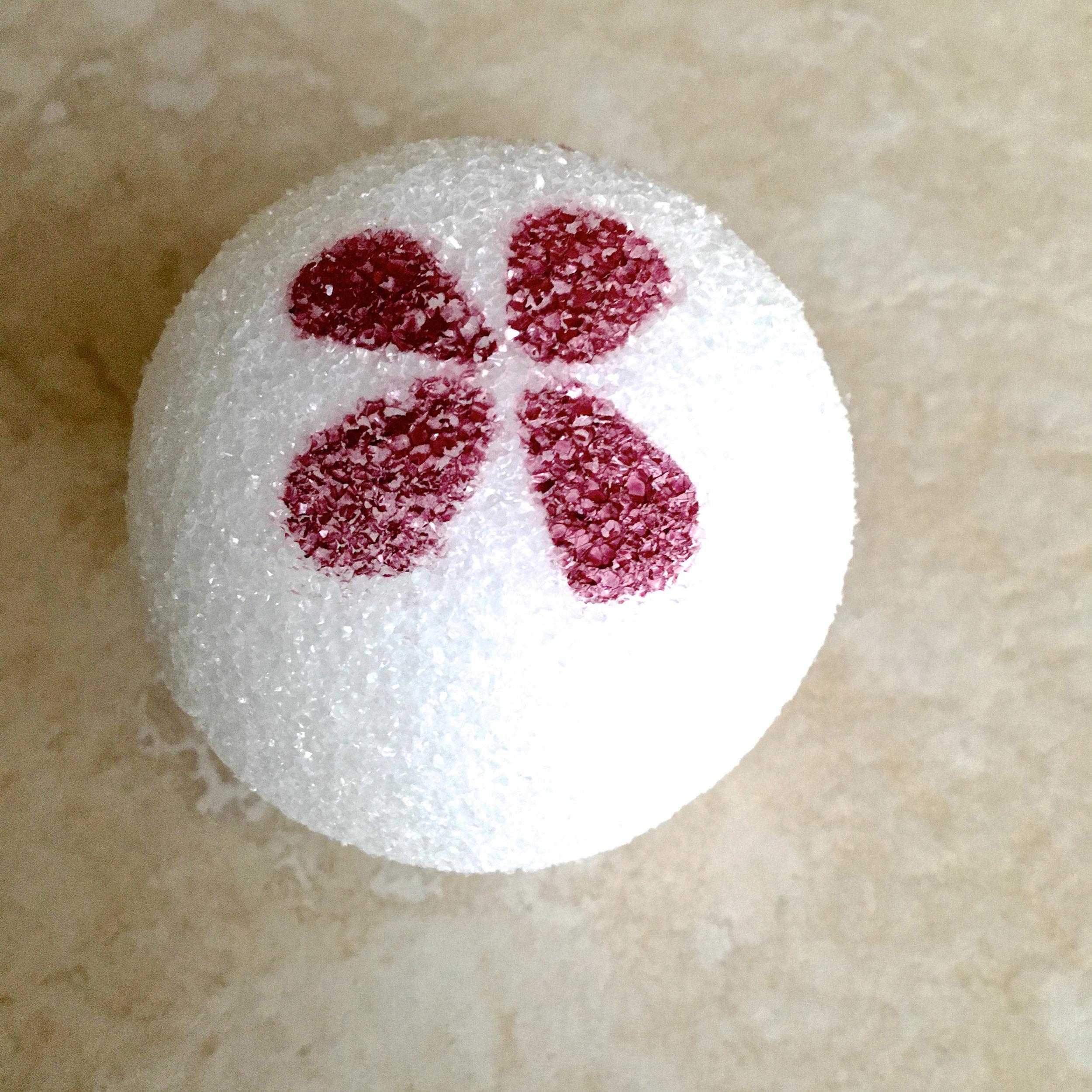 airbrushed Styrofoam