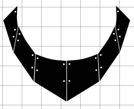 step 3 -  SC  - Move only the black bead shapes onto your Silhouette workspace. Place your black clay on the shiny side of freezer paper. Press the paper on the machine's cutting mat.In the Silhouette window, arrange beads to match the clay placement on the cutting mat. Use the blue #10 setting of the deep cut blade. In settings choose 3 platforms, speed 3, thickness 33, and send the job to cut. Place deli film over the cut clay. Flip it over. Remove the Freezer paper. Cover the clay with another sheet of deli film. Flip it again and remove the front film. Use the back film to push out the cut clay pieces. Set aside.