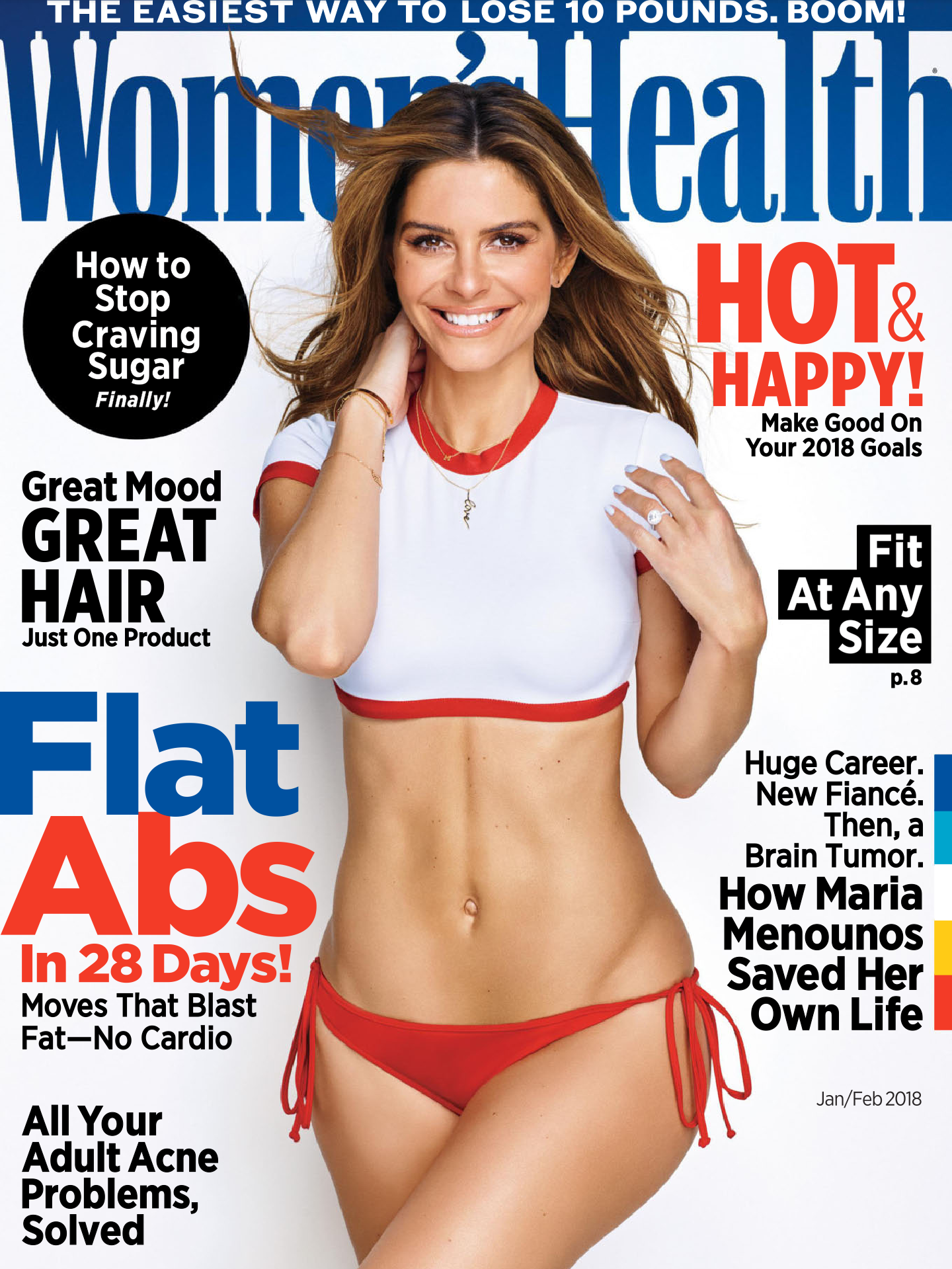 WOMEN'S HEALTH MAGAZINE (JAN/FEB 2018)