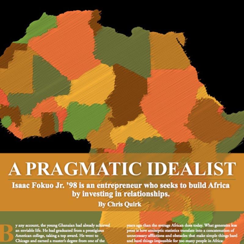 International business initiatives in Africa.