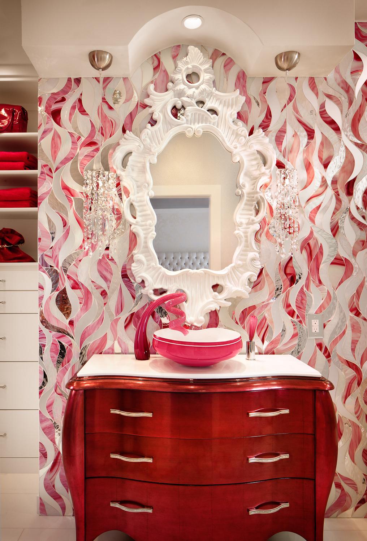 Bath Remodel Vanity detail