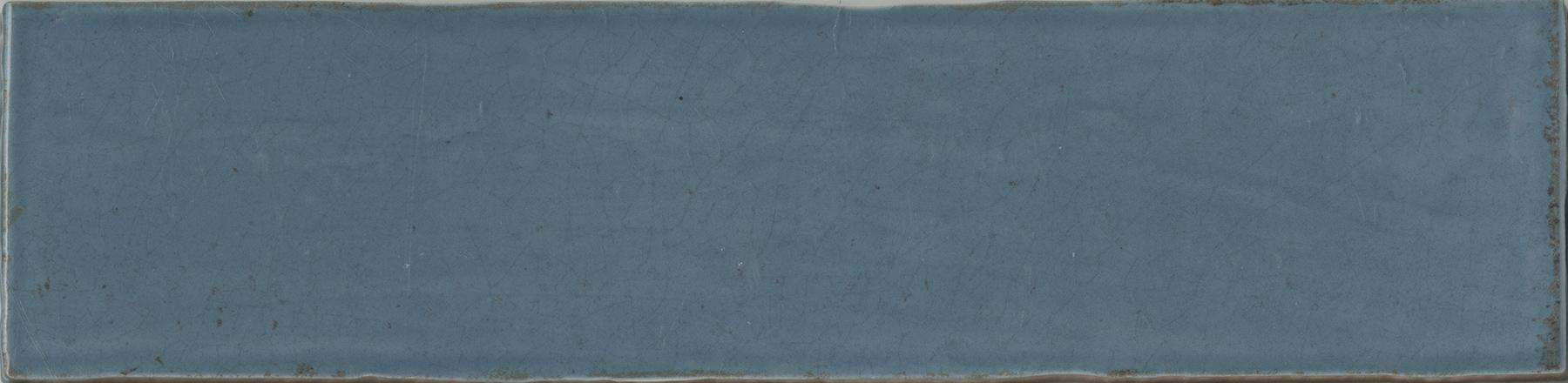 "CRACKLED BLUE STEEL 3""x12"""