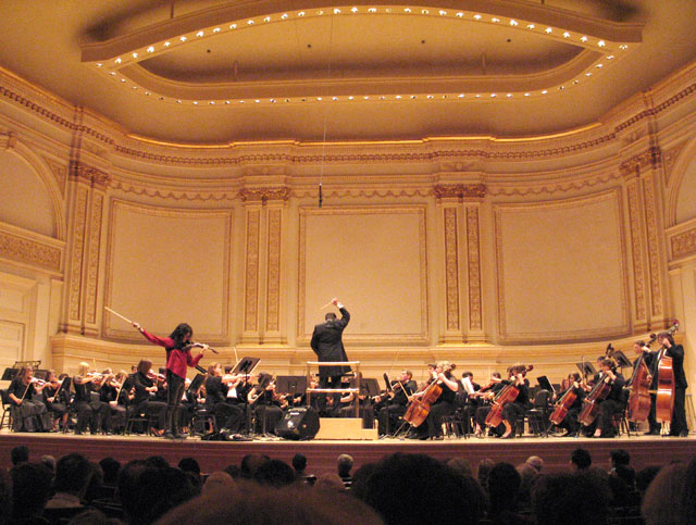 "Mark Wood's ""Viper Vs Orchestra"" world premiere at the prestigious Carnegie Hall in NYC"