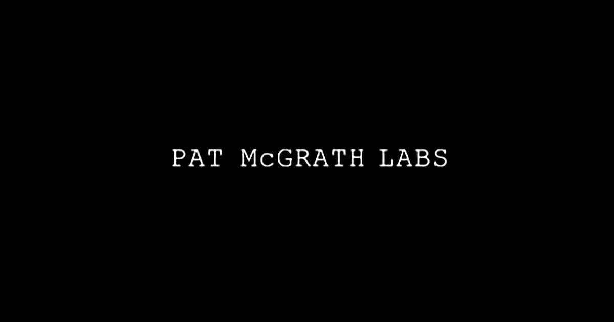Official Logo of Pat McGrath from https://www.patmcgrath.com/
