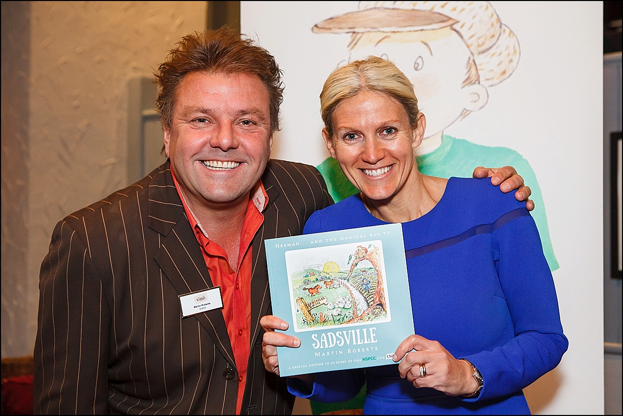 NSPCC Book Launch Event, with Martin Roberts, from Homes Under the Hammer