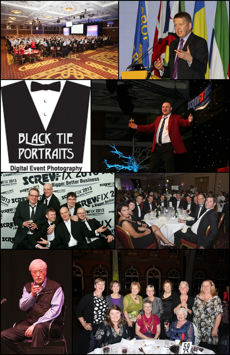 Corporate Events Photographers Bristol | Black Tie Portraits