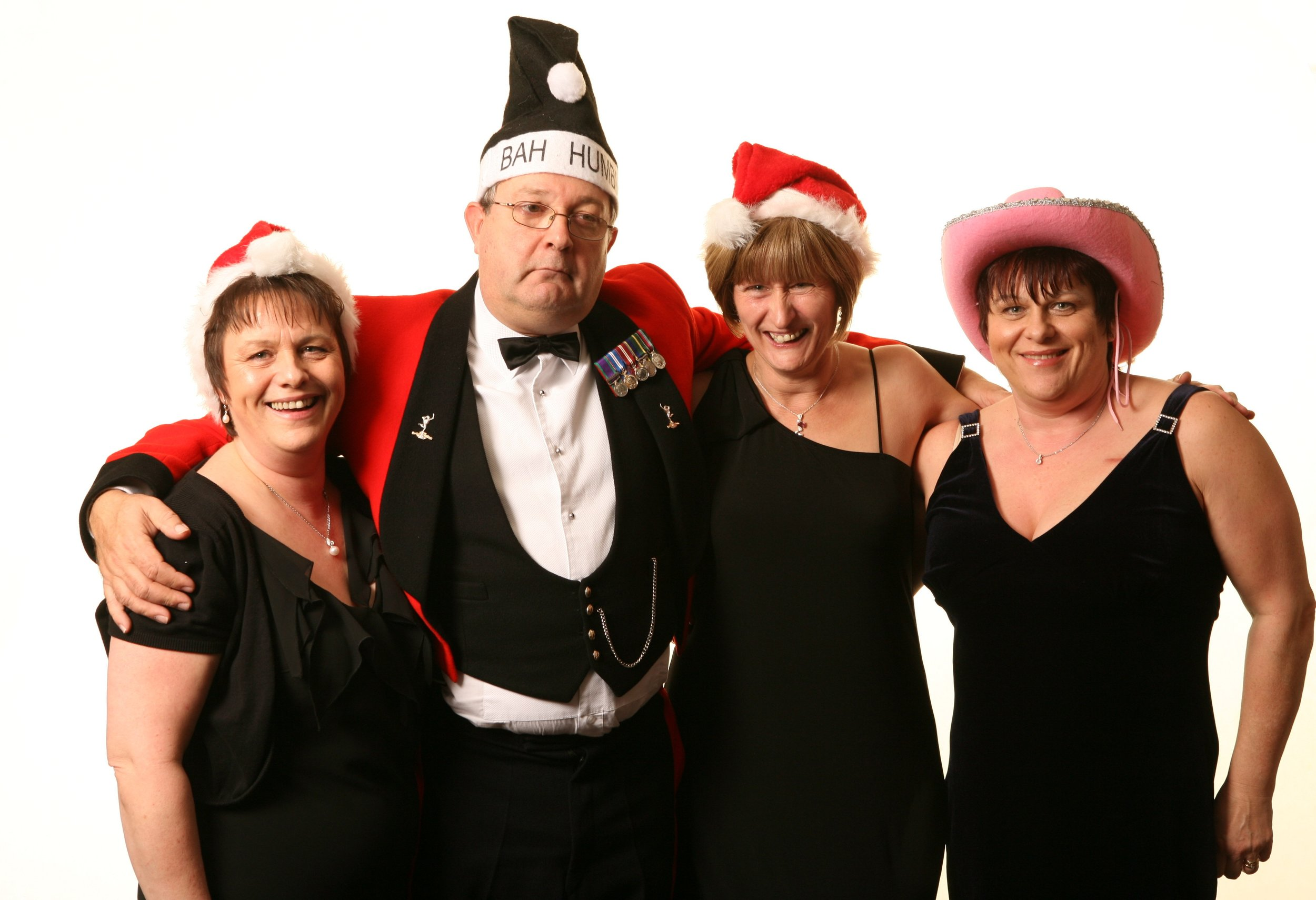 Bristol Christmas Party Photographers | Black Tie Portraits