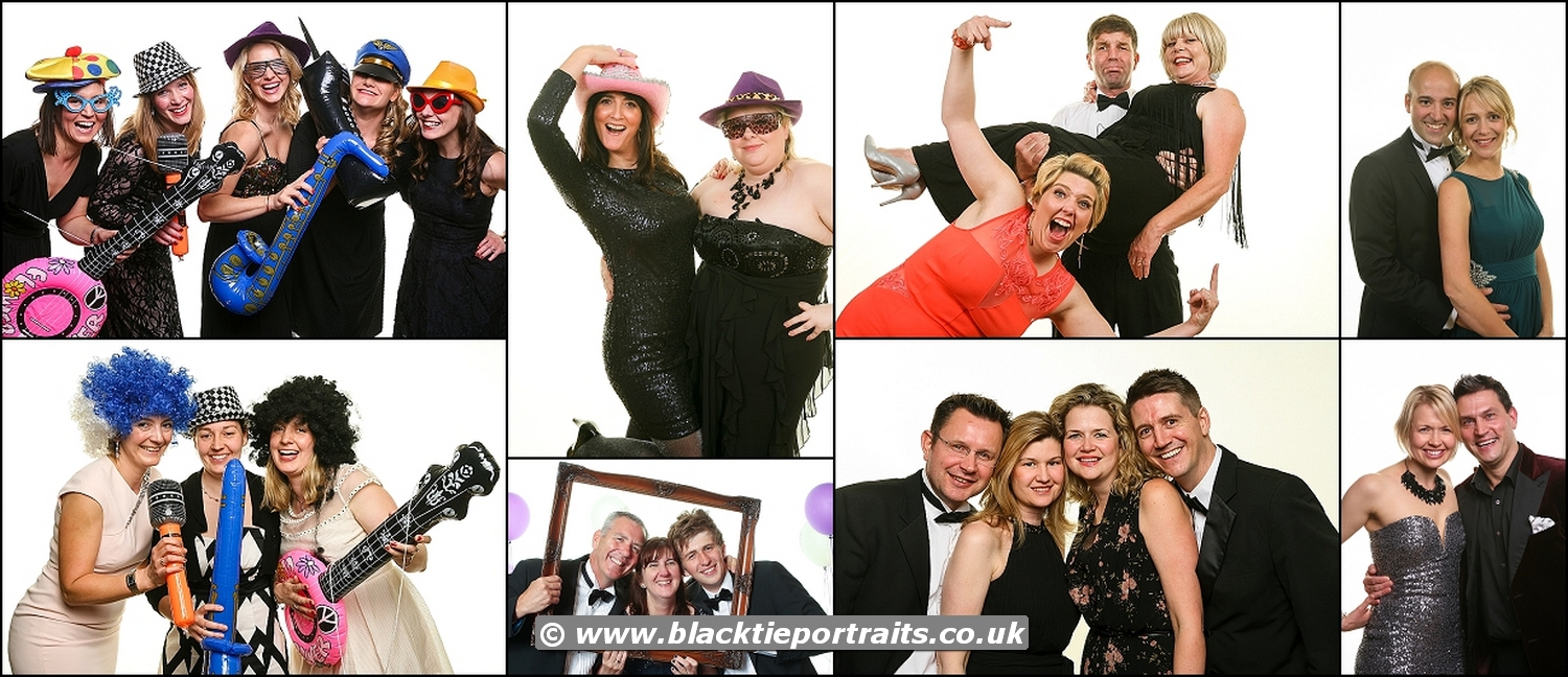 Charity Event Photographer Bristol | Black Tie Portraits