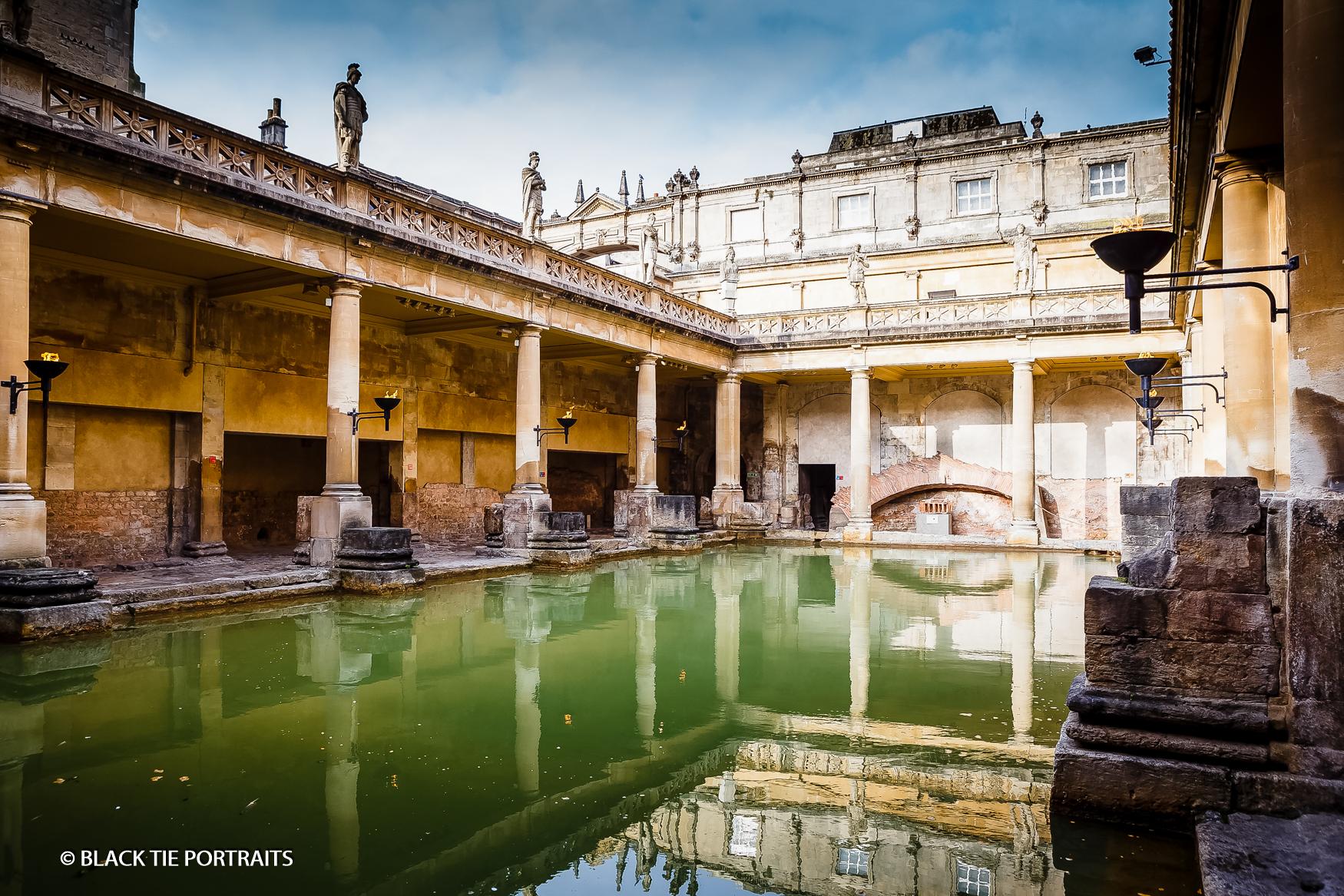 Roman Baths Photography | Black Tie Portraits