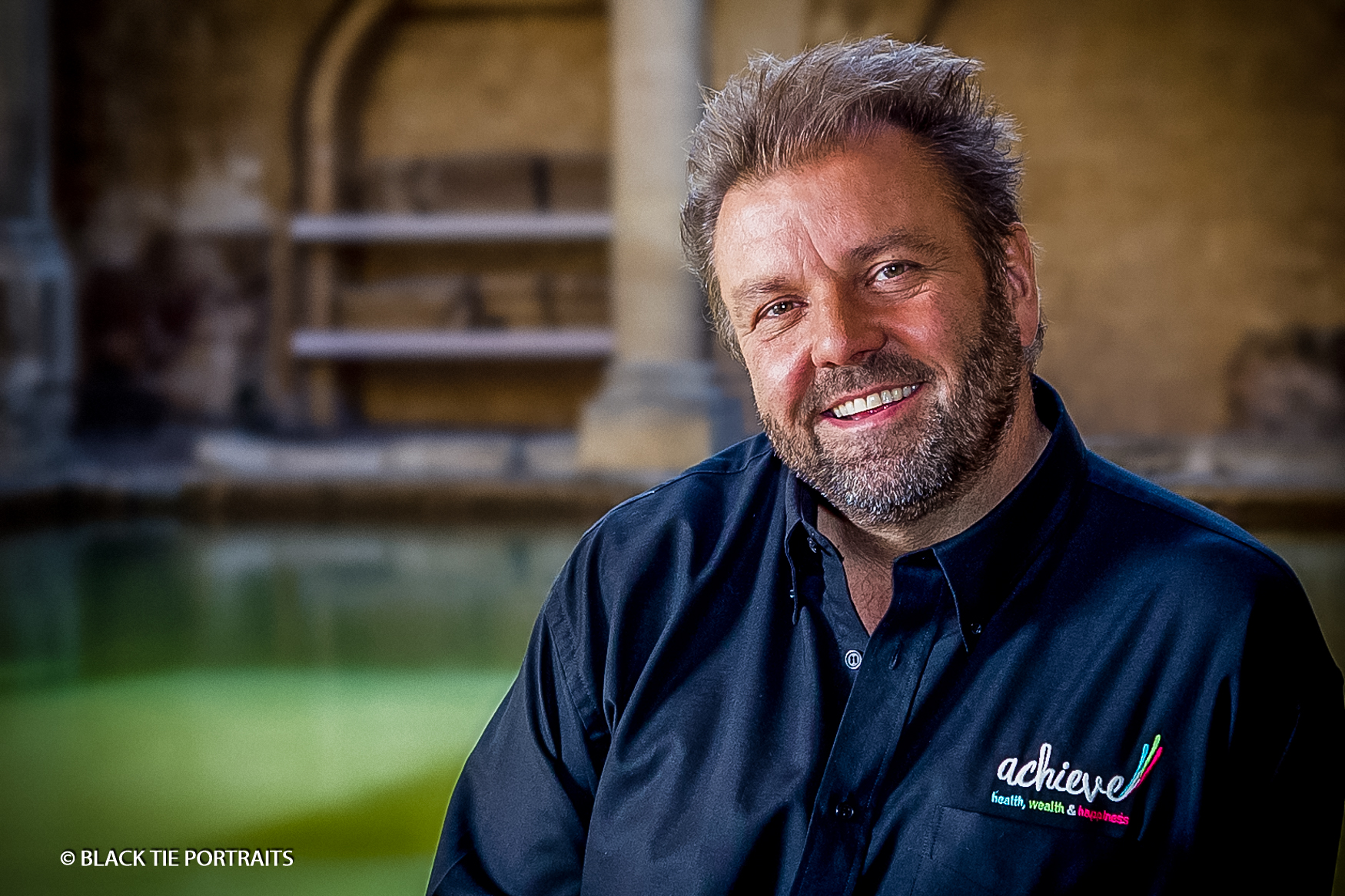 Martin Roberts, TV personality & organiser of Achieve, the UK's 1st Health, Wealth and Happiness Expo