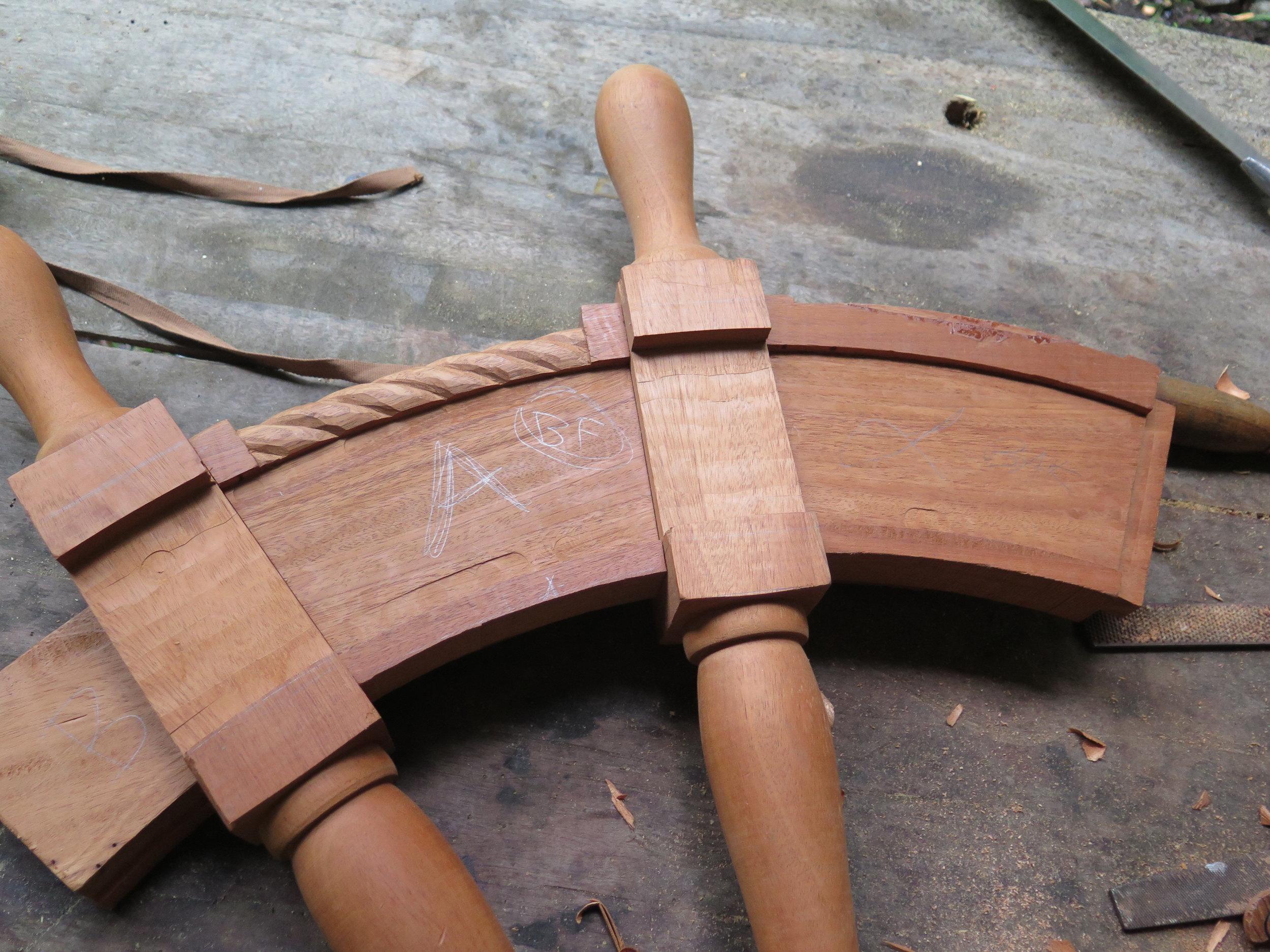Fine Woodwork  To be headed by Lynx Guimond, fine woodwork artist; carpenter and figure-head carver. www.lynxguimond.com