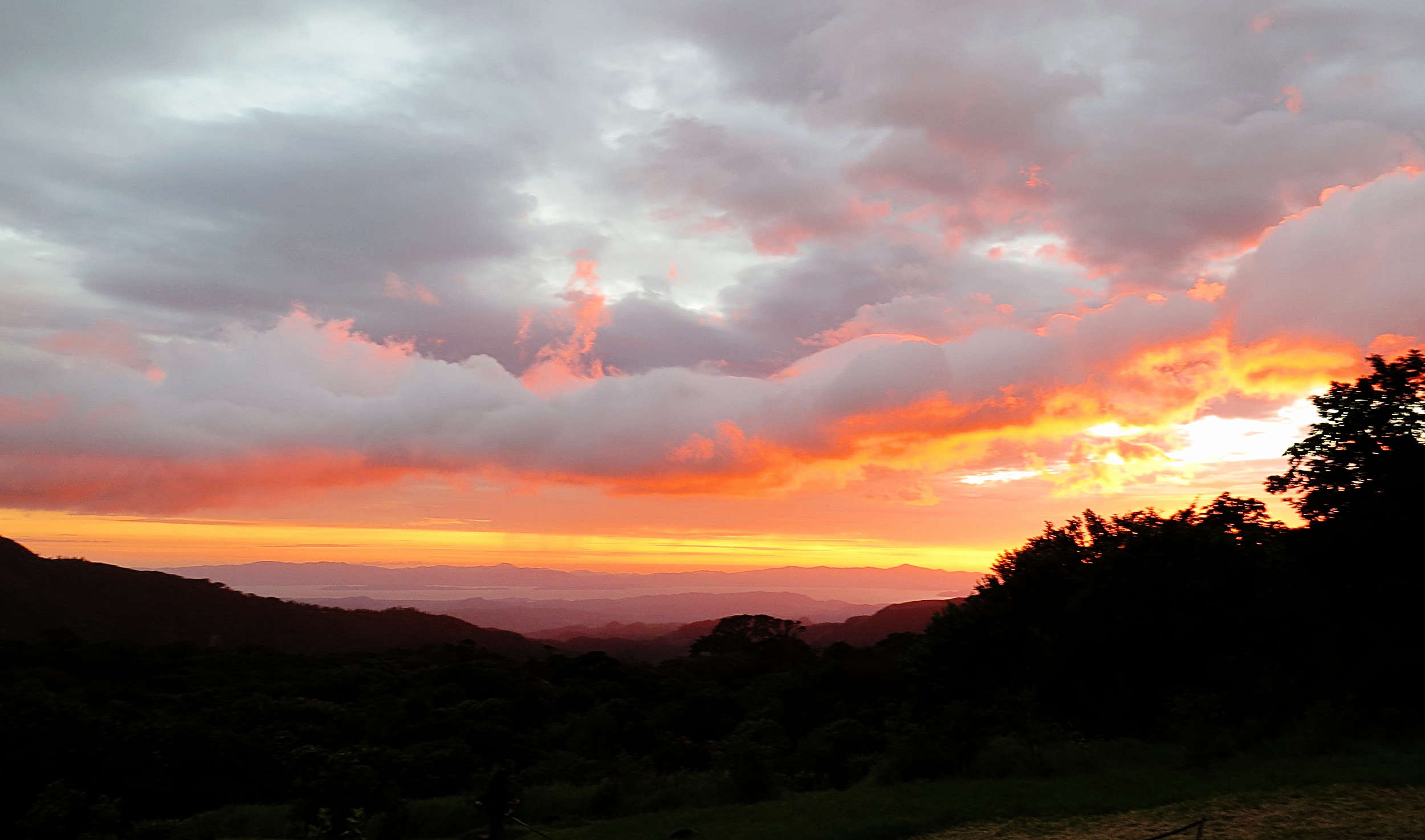 View from the San Luis Valley below Monteverde, where our sister farm is located.