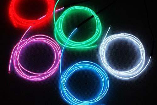 EL Wire 9ft - 5 color pack - 4.5 stars - $24 (Prime)