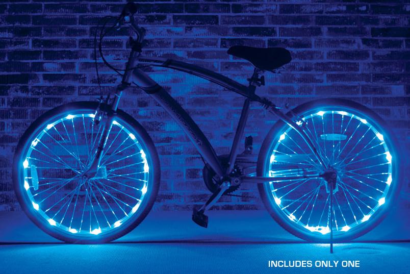 LED Wheel Lights ,8+ colors - 4 stars - $15/wheel (Prime)