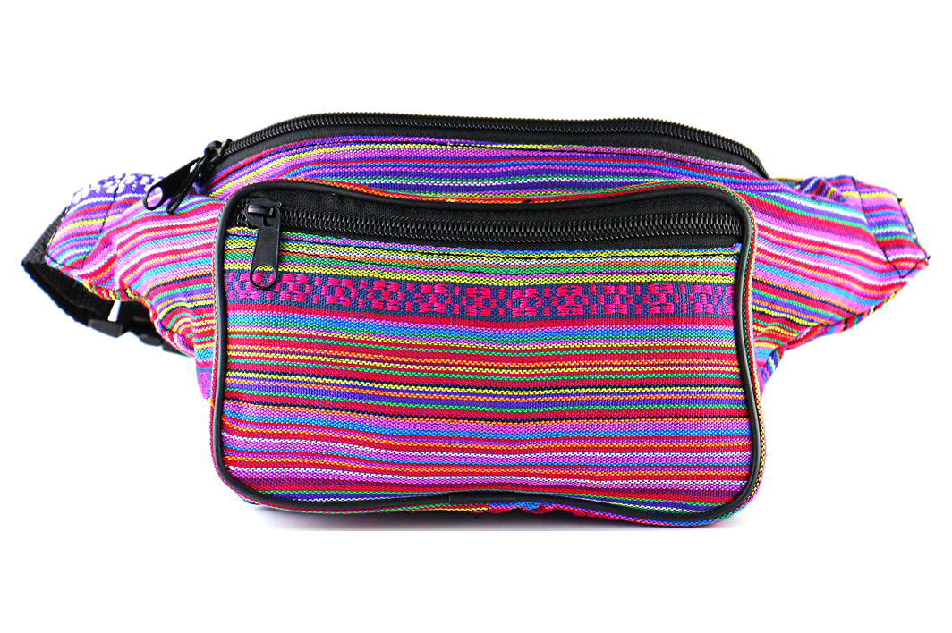 Fanny Pack - Woven Fabric (4 colors) - 4.5 stars - $19 (Prime)