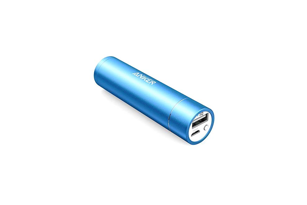 Lipstick Sized Charger 3,350 mAh - 4.5 stars - $17 (Prime)