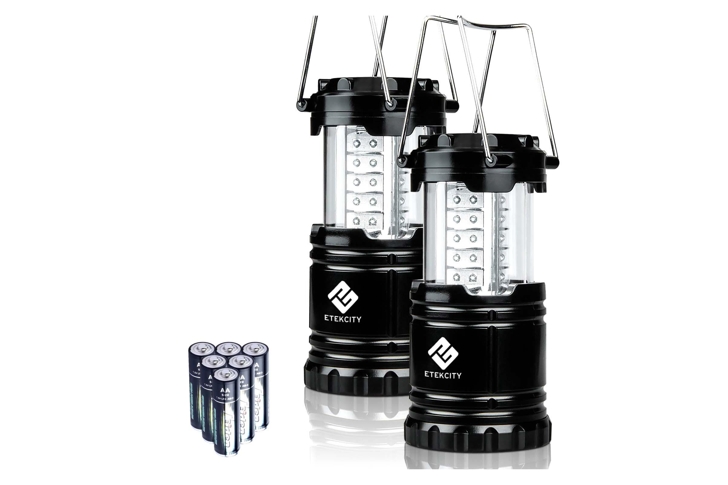LED Lantern - 2 pack - 4.5 stars - $13 (Prime)