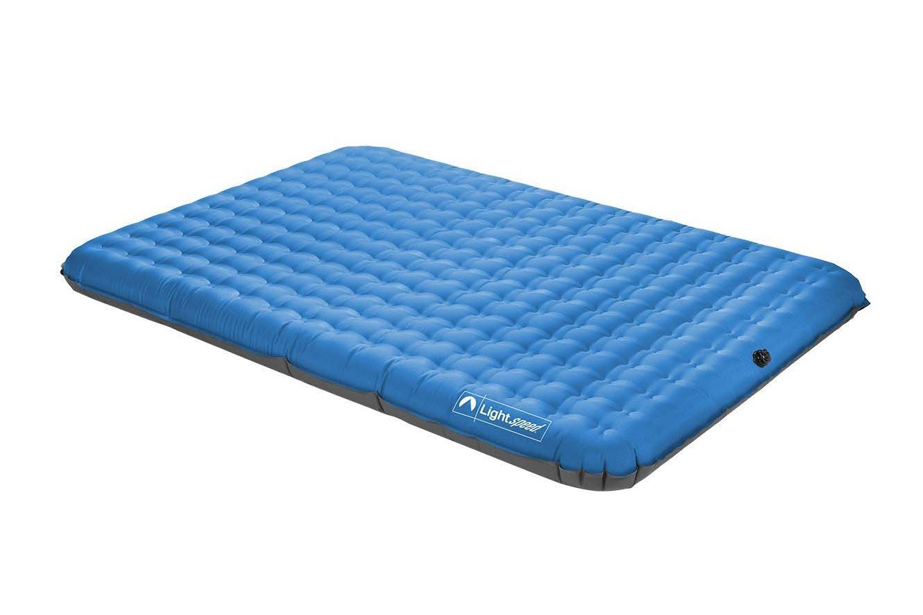 Air Mattress Queen, Pump Included 4.5 stars - $58 (Prime)