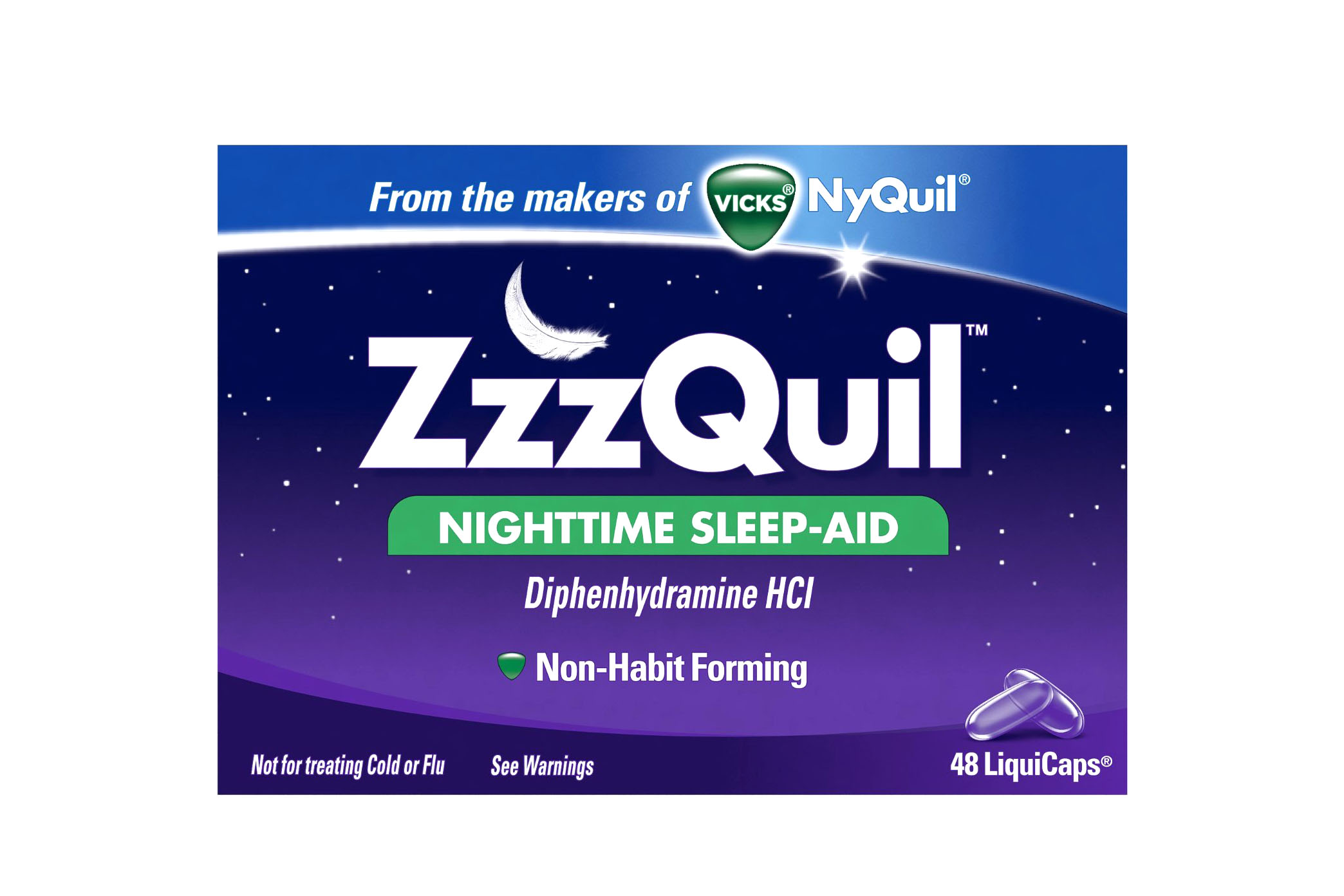 ZzzQuil - 4 stars - $12 (Prime)