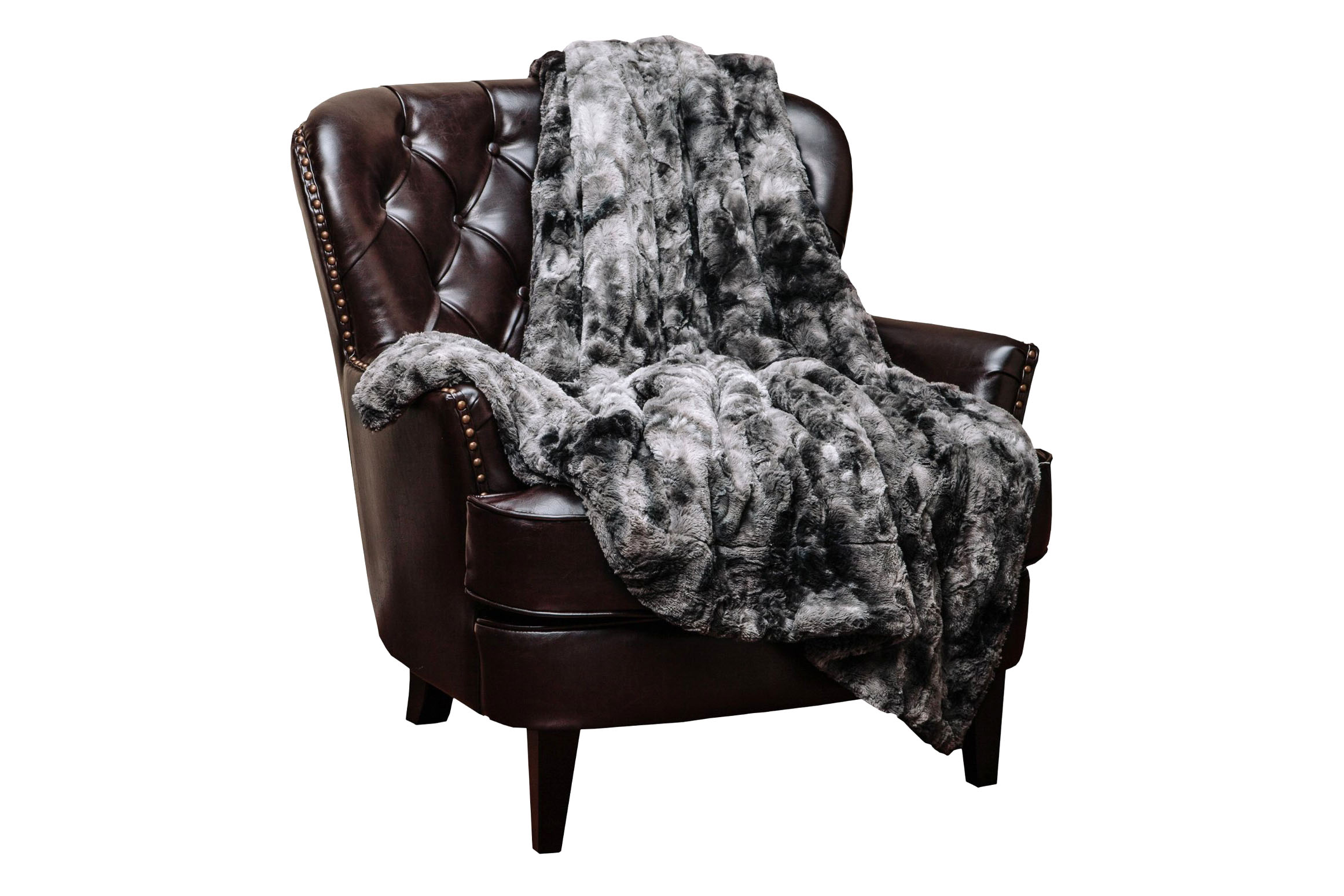 Super Soft Fuzz Fur Throw Blanket - 5 stars - $35 (Prime)