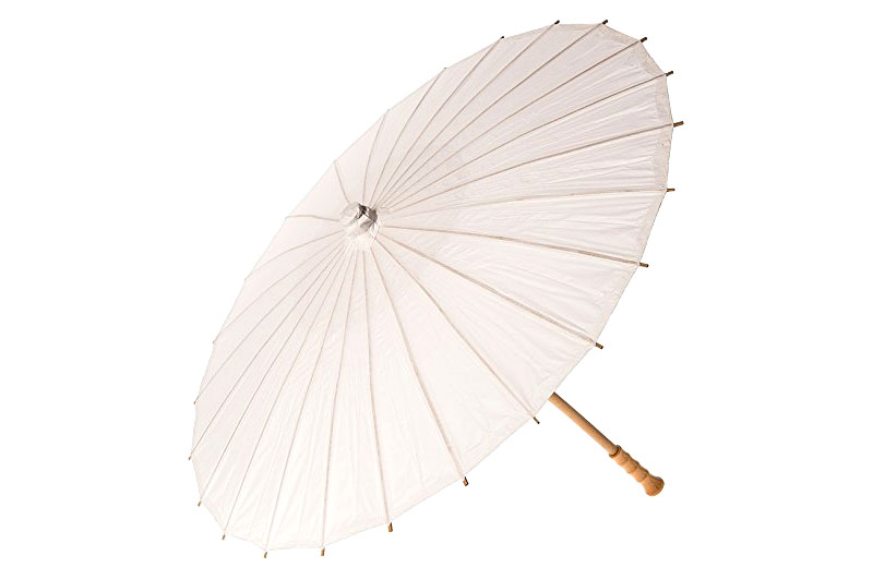 Paper Parasol, White for Amazon Prime - 20 Inch - $10 (Prime)