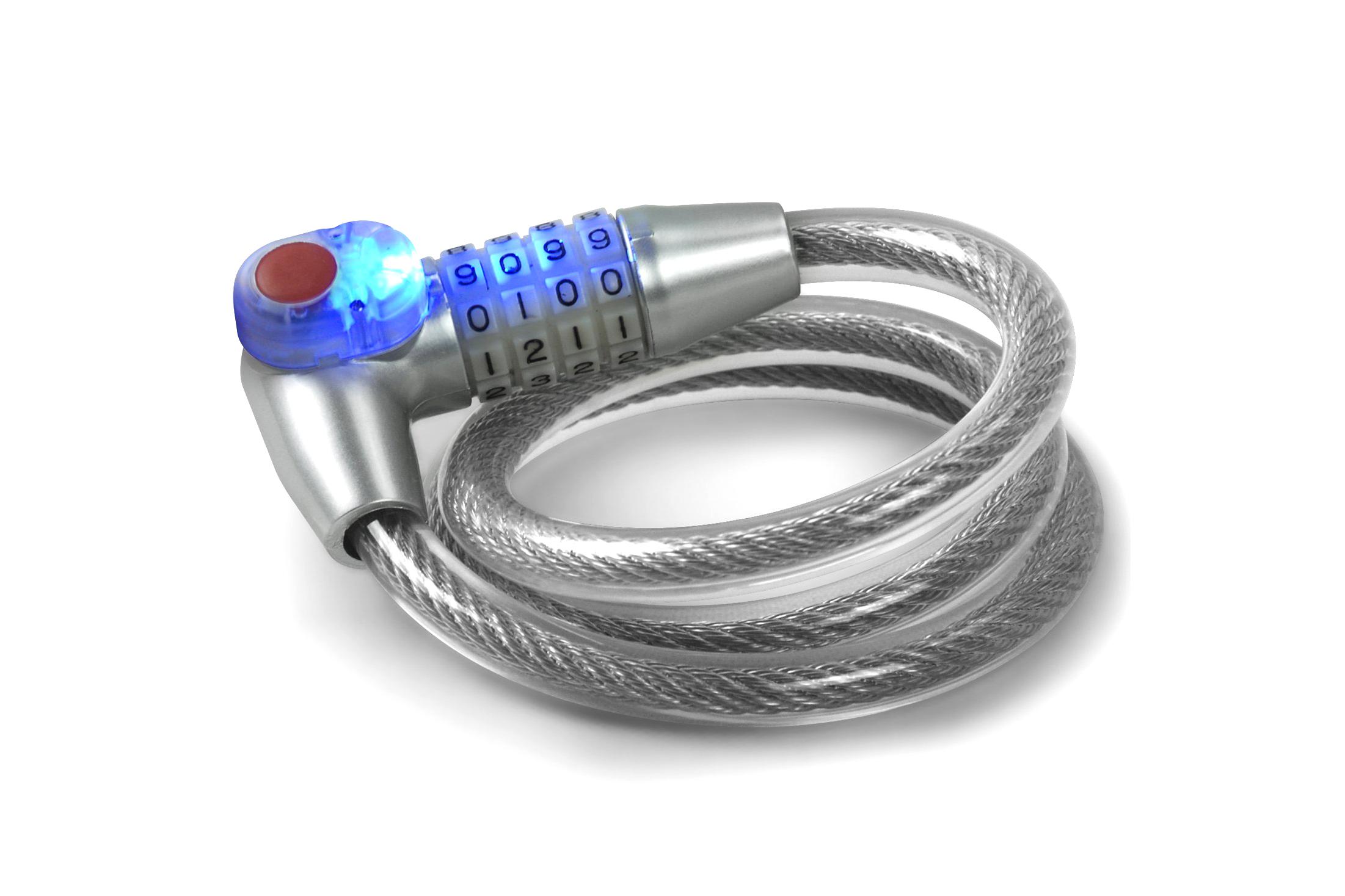 LED Light Up Lock for easy access - 4.5 stars - $11 (Prime)