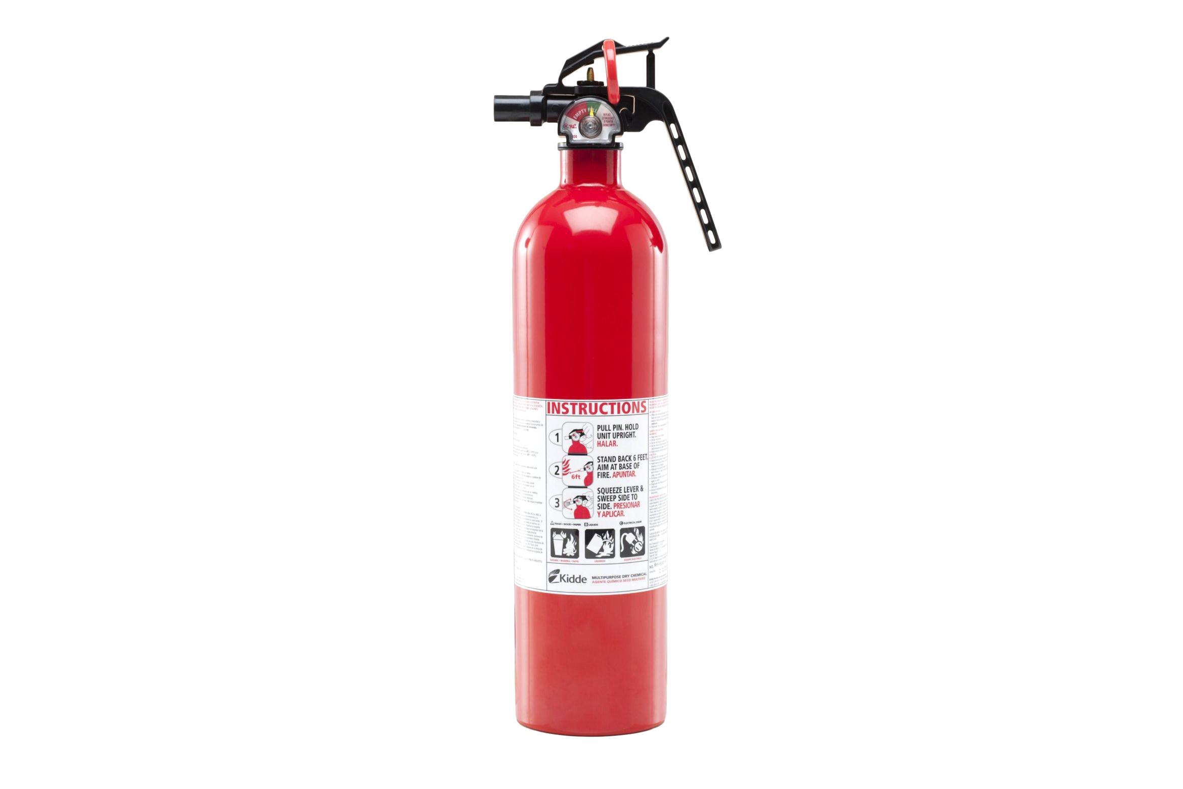 2.5lb Dry Chemical Extinguisher - 4.5 stars - $20 (Prime)