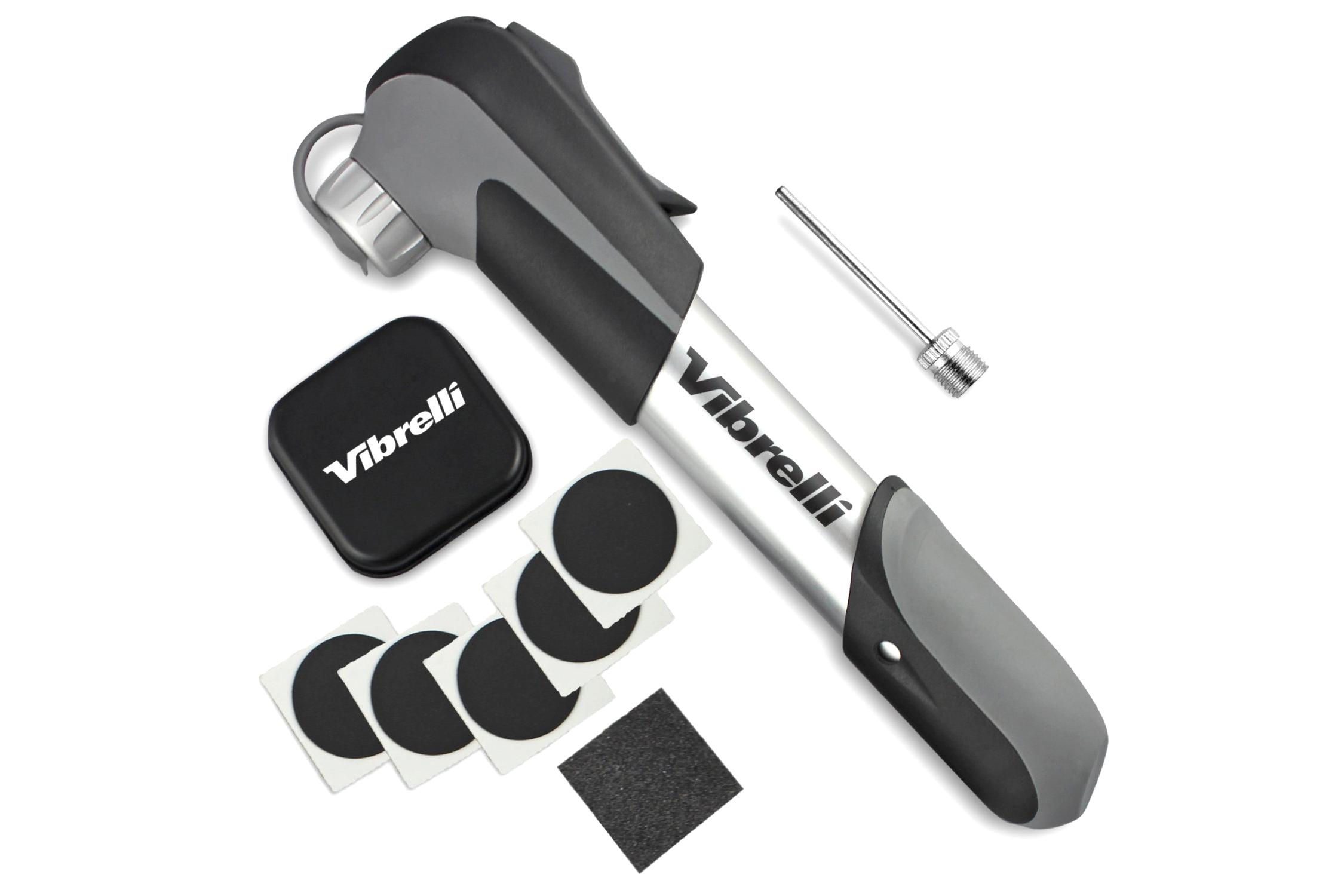 Flat Tire Repair Kit, Incl Pump, Glueless Patches - 4.5 stars - $20 (Prime)