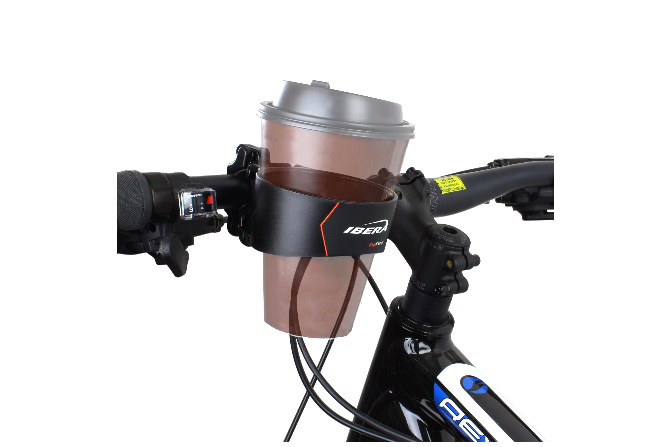 Bike Cup Holder - 4.5 stars - $8 (Prime)