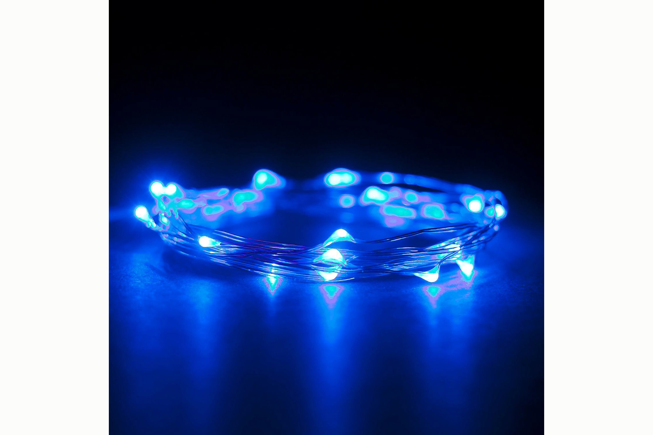 7 Foot, 20 LEDs on clear cable -4.5 stars - $6 (Prime)