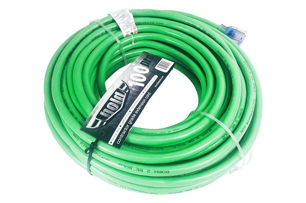 10 Gauge Ext Cord, 100' (RVs / AC units requiring 20 amps of power) - $190 (Prime)