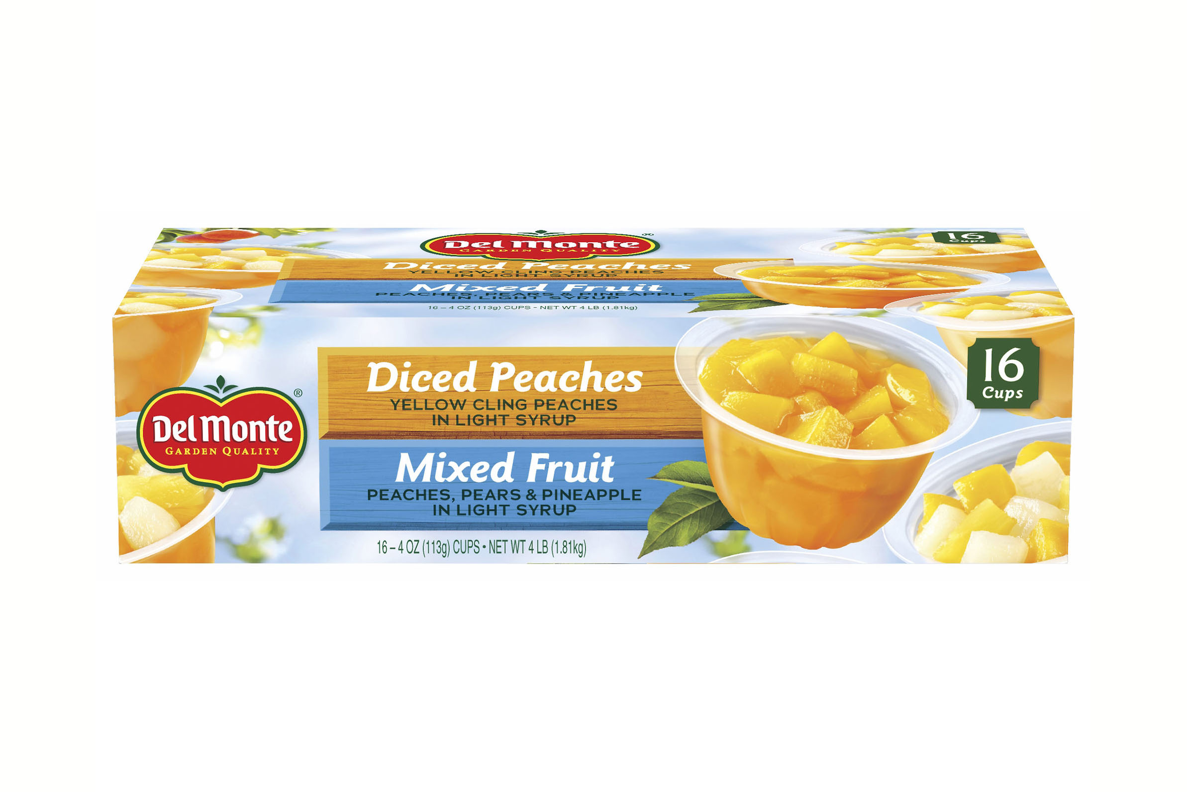 Diced Peaches - 4.5 stars - $15 (Prime)