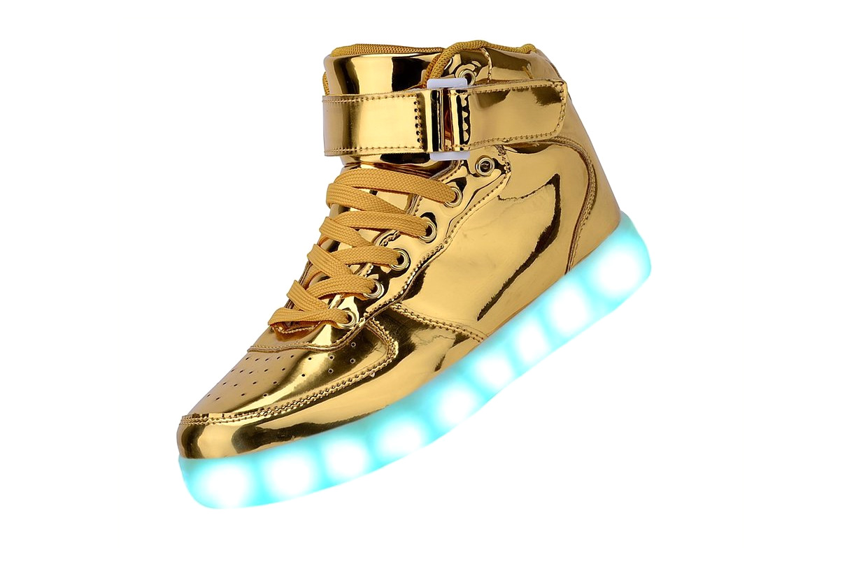 LED Blinky Sneakers, USB Charged - 4 stars - $46 (Prime)