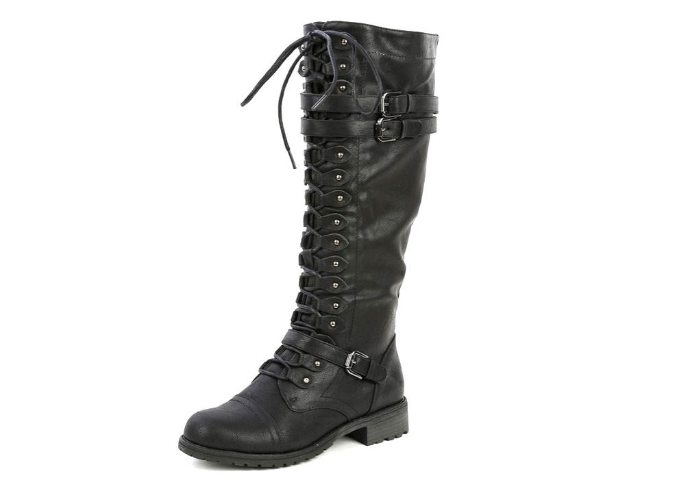 Combat boots Synthetic - 4.5 stars - $22-80