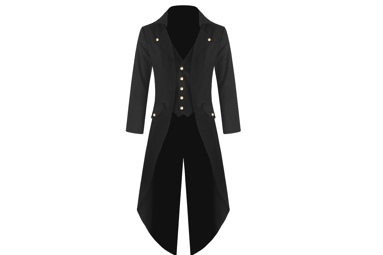 Tailcoat Jacket, 3 colors - 4.5 stars - $93