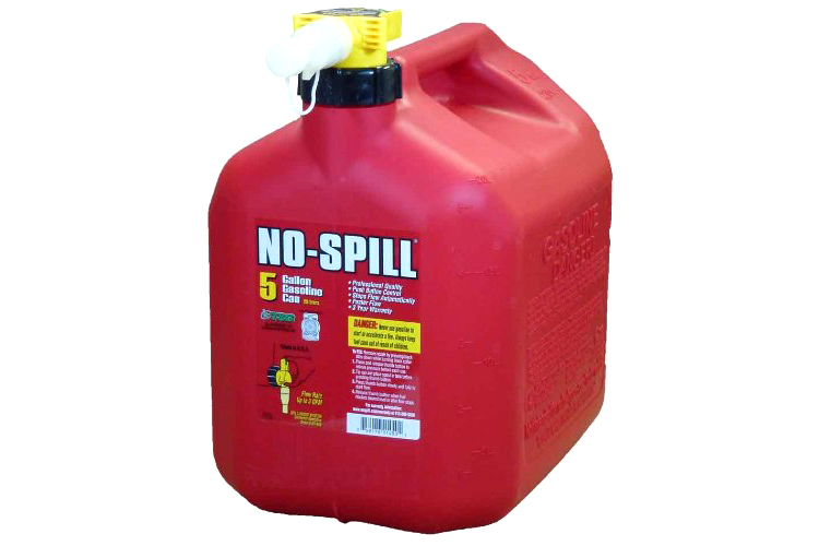 5 Gallon Gas Can - 4.5 stars - $34 (Prime)