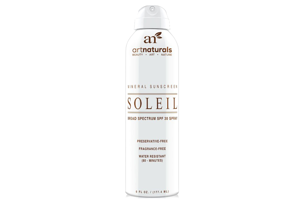 SPF 30 - Natural & Organic Sunscreen Spray - 4.5 stars - $14 (Prime)