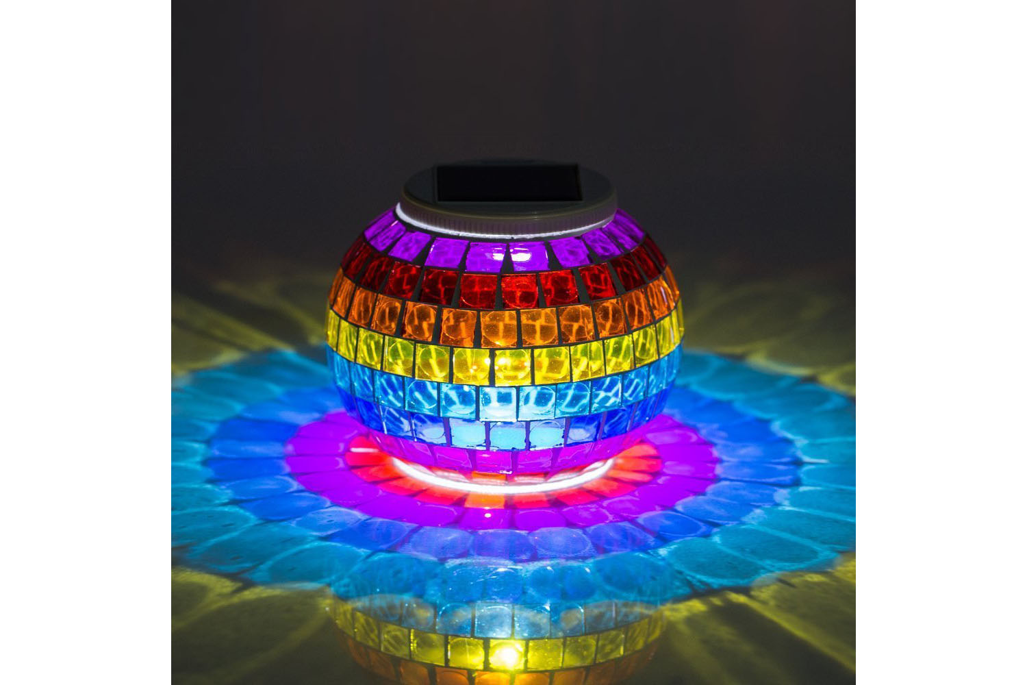 Solar Lantern Changes Color, 3 Color Options, 4.5 stars - $20 (Prime)