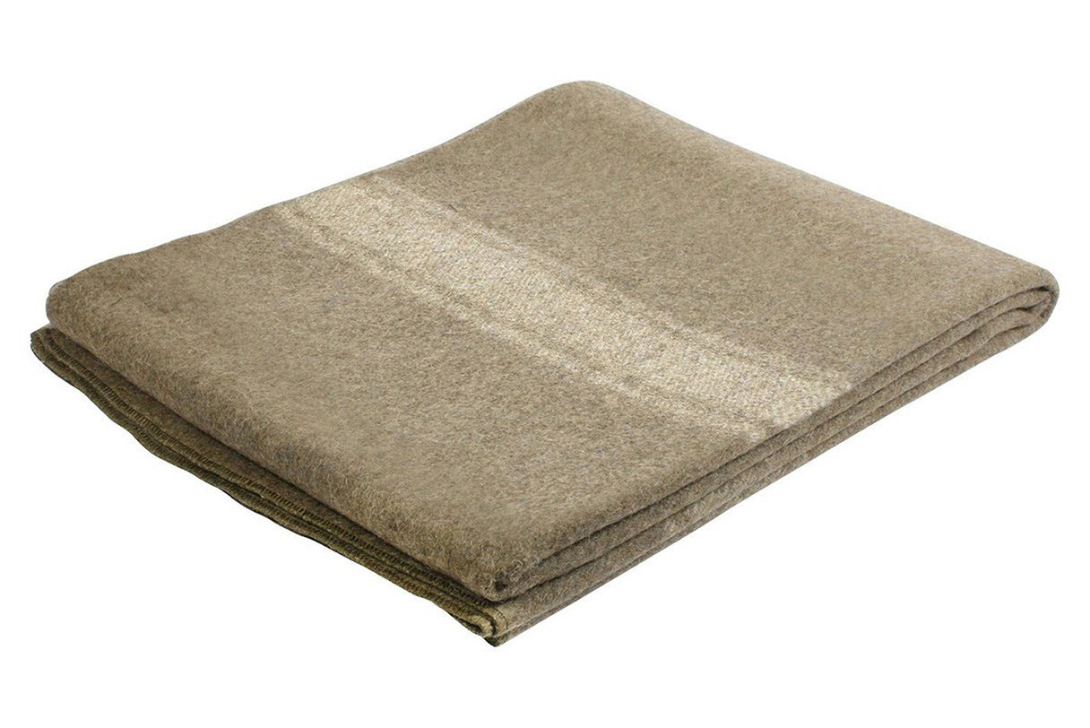 Surplus Style Wool Blanket - 4.5 stars - $32 (Prime)