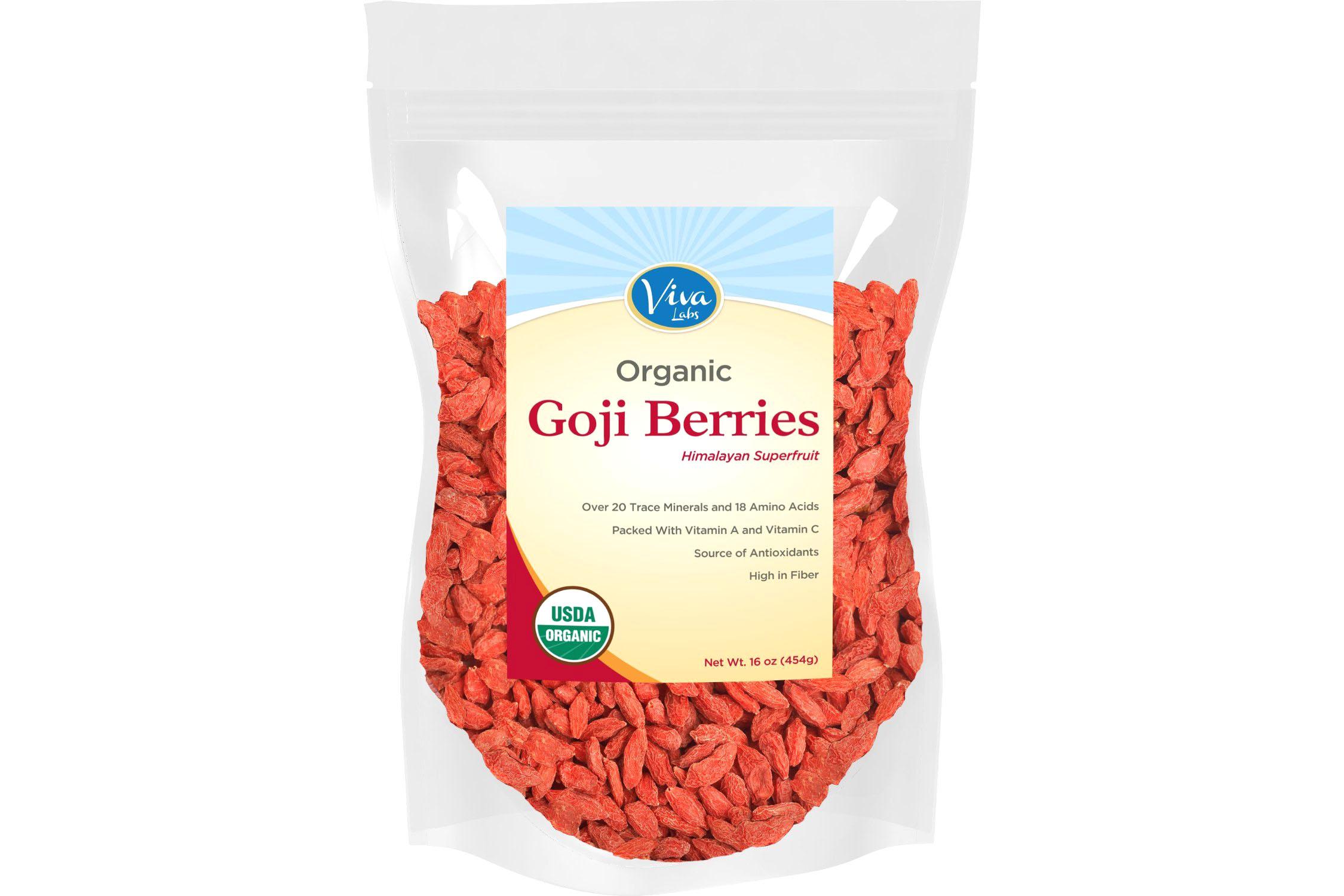 Premium Goji Berries, 1 lb - 4.5 stars - $17 (Prime)