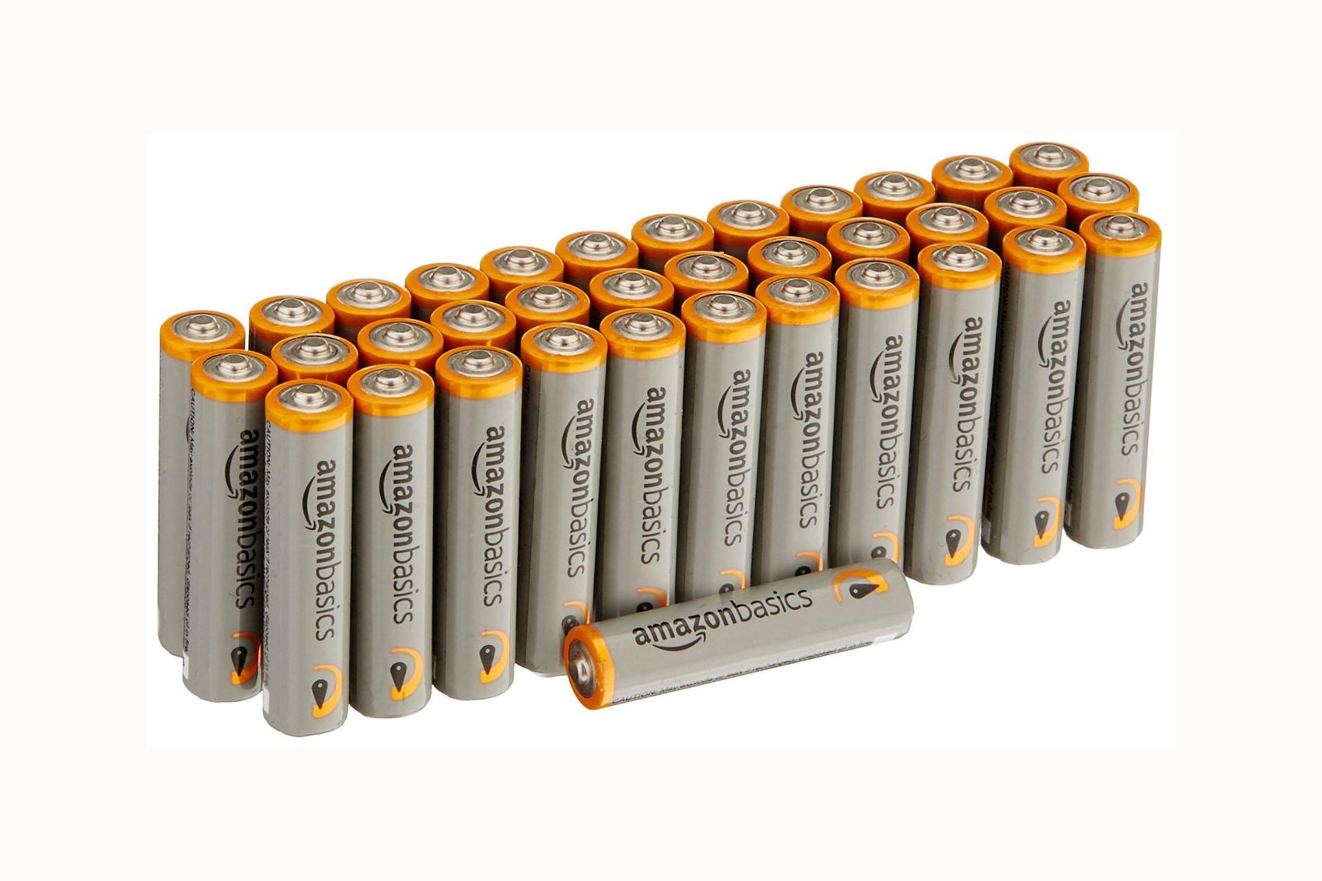36 Pack - AAA Batteries - 4.5 stars - $11 (Prime)