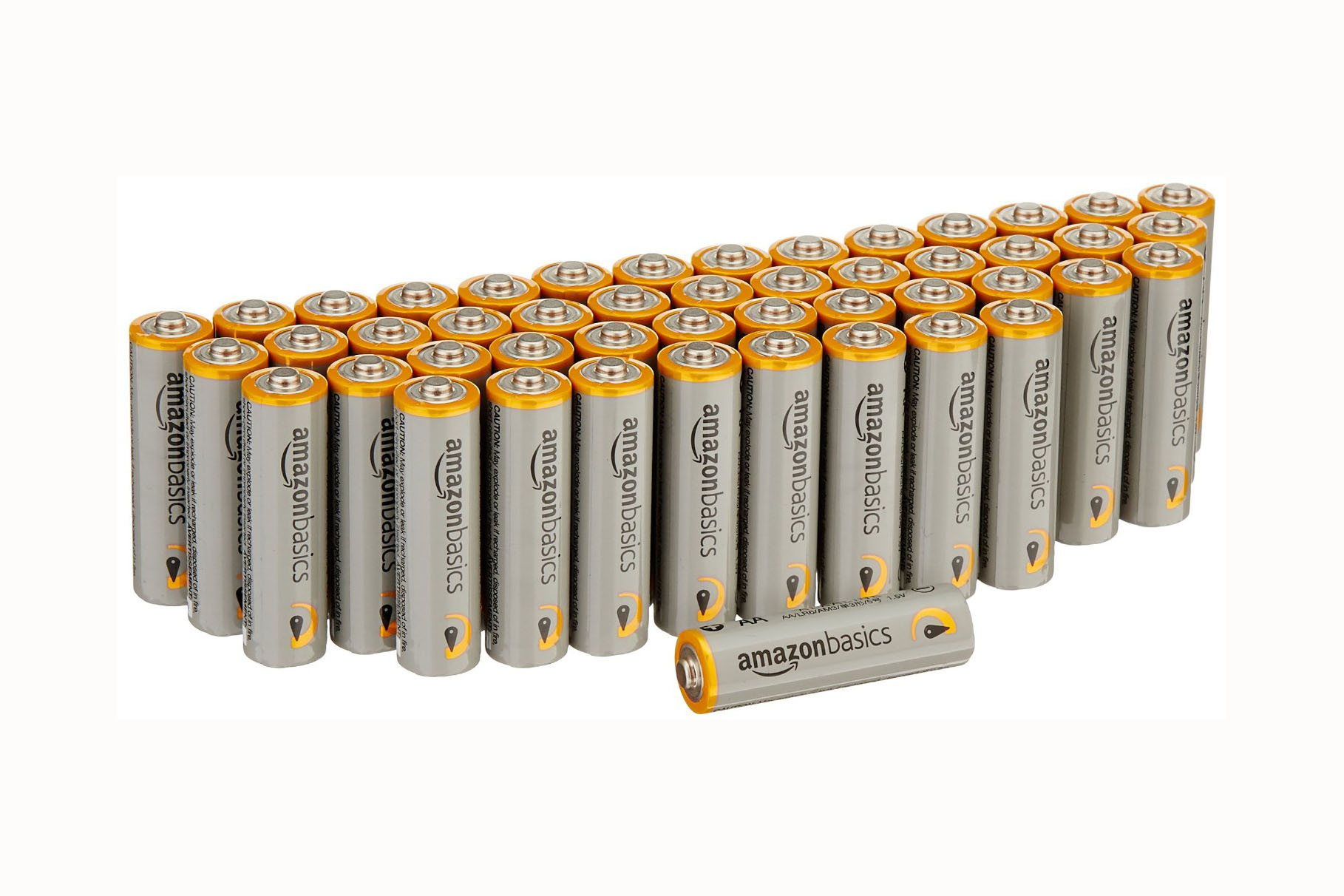 48 - AA Batteries - 4.5 stars - $13 (Prime)