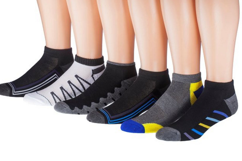 Men's Ankle Cut Socks - 4.5 stars - $10 (Prime)