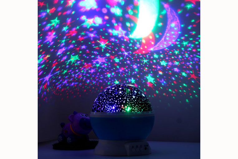 LED Star Projector - 4.5 stars - $20 (Prime)
