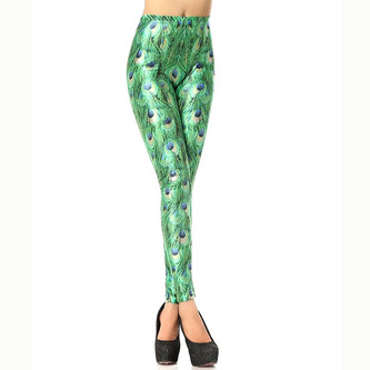 Digital Design Funky Print Leggings   4.5 stars - $7-12 (Prime)