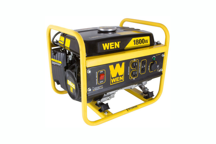 Portable Gas Generator, 1,500 Watts - 4.5 stars - $162 (Prime)