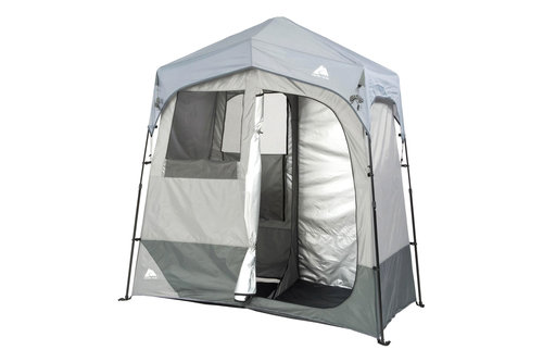 Instant 2-Room Shower/Changing Shelter Outdoor - 4.5 stars - $154