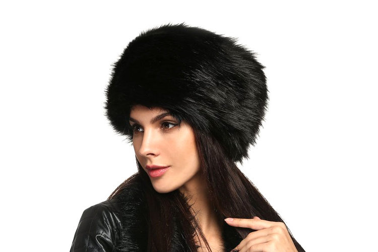 Faux Fur Russian Cossack Style Hat - 4 stars - $13 (Prime)