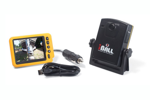 iBall 5.8GHz Wireless Magnetic Trailer Hitch Rear View Camera LCD Monitor - 4.5 stars - $170 (Prime)